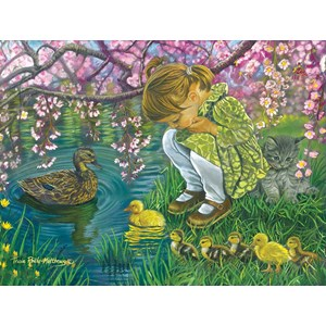 "SunsOut (35883) - Tricia Reilly-Matthews: ""A Mother's Love"" - 300 piezas"