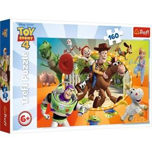 """Trefl (15367) - """"Toy Story 4"""" - 160 piezas"""