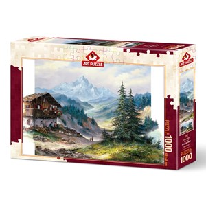"""Art Puzzle (5187) - """"Green Valley"""" - 1000 piezas"""