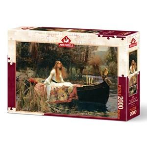 "Art Puzzle (5478) - John William Waterhouse: ""The Lady of Shalott, 1888"" - 2000 piezas"