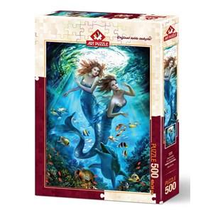 "Art Puzzle (4209) - ""Mermaids"" - 500 piezas"