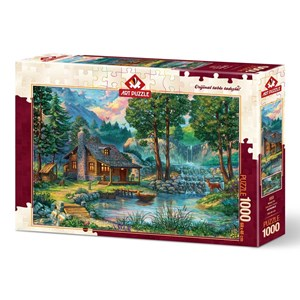 "Art Puzzle (4223) - ""Fairytale House"" - 1000 piezas"