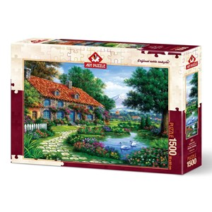 "Art Puzzle (4551) - ""The Garden"" - 1500 piezas"