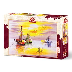 "Art Puzzle (4578) - ""Evening Sun"" - 500 piezas"