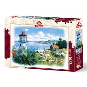 "Art Puzzle (5076) - ""Lantern on the Shore"" - 500 piezas"