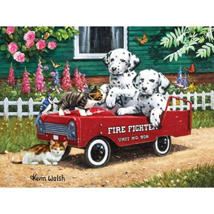"SunsOut (13321) - Kevin Walsh: ""Fireman Friends"" - 300 piezas"