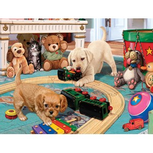 "SunsOut (60905) - Steve Read: ""Puppies Playtime"" - 300 piezas"