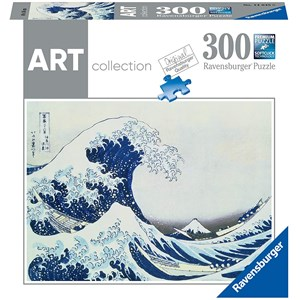 "Ravensburger (14845) - Hokusai: ""The Great Wave"" - 300 piezas"