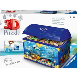 "Ravensburger (11174) - ""Treasure Chest, Underwater World"" - 216 piezas"