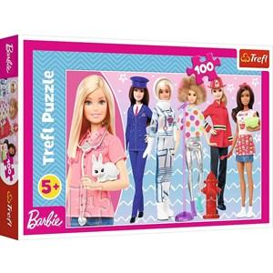 """Trefl (16385) - """"Barbie"""" - 100 piezas"""