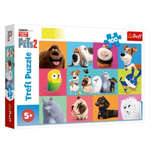 "Trefl (16357) - ""The Secret Life of Pets 2"" - 100 piezas"