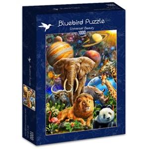 "Bluebird Puzzle (70012) - Adrian Chesterman: ""Universal Beauty"" - 1000 piezas"