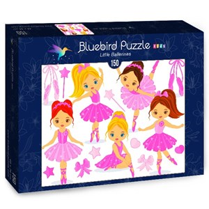 "Bluebird Puzzle (70403) - ""Little Ballerinas"" - 150 piezas"