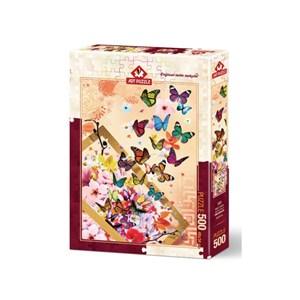 """Art Puzzle (4200) - """"Butterflies"""" - 500 piezas"""