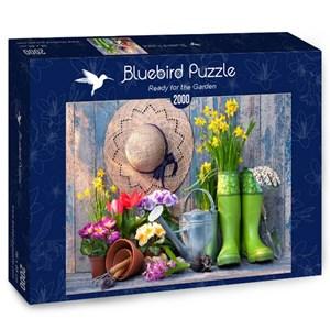 "Bluebird Puzzle (70031) - Alexander Raths: ""Ready for the Garden"" - 2000 piezas"