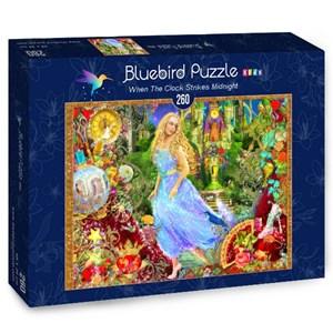 """Bluebird Puzzle (70390) - Aimee Stewart: """"When The Clock Strikes Midnight"""" - 260 piezas"""