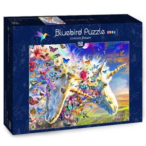 "Bluebird Puzzle (70397) - Adrian Chesterman: ""Unicorn Dream"" - 150 piezas"