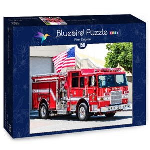 "Bluebird Puzzle (70402) - ""Fire Engine"" - 150 piezas"