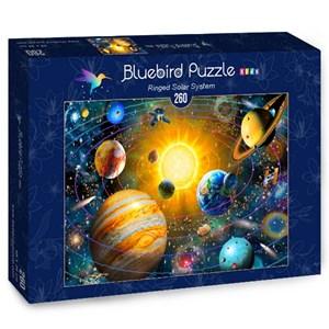 "Bluebird Puzzle (70383) - Adrian Chesterman: ""Ringed Solar System"" - 260 piezas"
