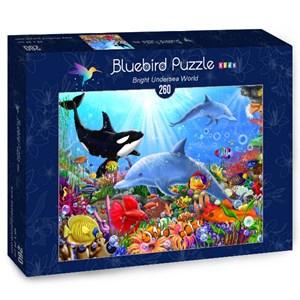 """Bluebird Puzzle (70384) - Gerald Newton: """"Bright Undersea World"""" - 260 piezas"""