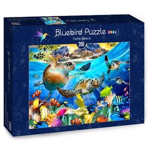 "Bluebird Puzzle (70372) - Howard Robinson: ""Turtle Beach"" - 260 piezas"