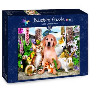 "Bluebird Puzzle (70373) - Howard Robinson: ""Good Companions"" - 150 piezas"