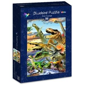 """Bluebird Puzzle (70374) - Howard Robinson: """"Dino Sunset"""" - 260 piezas"""