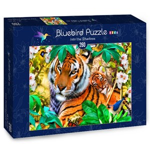 "Bluebird Puzzle (70375) - Howard Robinson: ""Into the Shadows"" - 260 piezas"