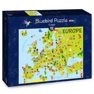 "Bluebird Puzzle (70380) - ""Europe"" - 150 piezas"