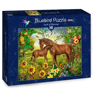 "Bluebird Puzzle (70382) - Ciro Marchetti: ""Spirit of Summer"" - 260 piezas"