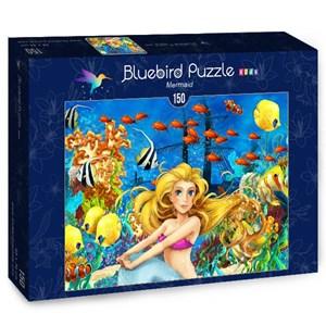 """Bluebird Puzzle (70347) - Maciej Es: """"Mermaid"""" - 150 piezas"""