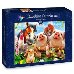 "Bluebird Puzzle (70370) - Howard Robinson: ""Petting Farm"" - 260 piezas"