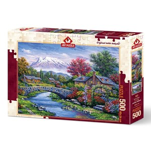 "Art Puzzle (4213) - ""Arc Bridge"" - 500 piezas"