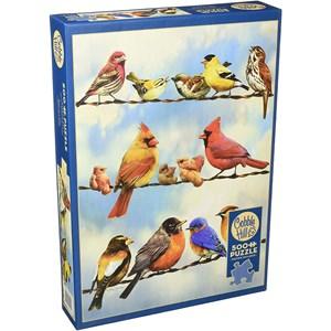 "Cobble Hill (85034) - Greg Giordano: ""Birds on a Wire"" - 500 piezas"