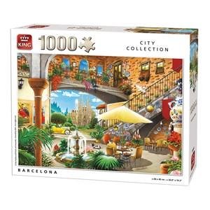 "King International (55853) - ""Barcelona"" - 1000 piezas"