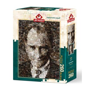 "Art Puzzle (4285) - ""Mustafa Kemal Atatürk"" - 260 piezas"