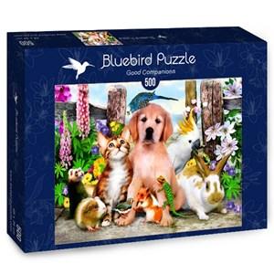 "Bluebird Puzzle (70291) - Howard Robinson: ""Good Companions"" - 500 piezas"