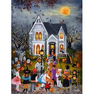 """SunsOut (45436) - Susan Rios: """"Scary Night"""" - 300 piezas"""
