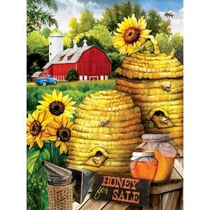 "SunsOut (29880) - Tom Wood: ""Bee Farm"" - 300 piezas"