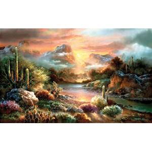 "SunsOut (18002) - James Lee: ""Sunset Splendor"" - 300 piezas"