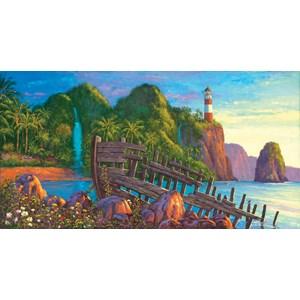 """SunsOut (20131) - Wil Cormier: """"Paradise Cove"""" - 500 piezas"""