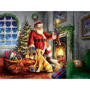 "SunsOut (60620) - Marcello Conti: ""Helping Santa"" - 300 piezas"
