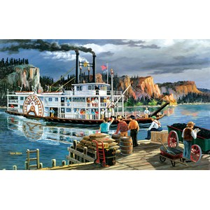 "SunsOut (39521) - Ken Zylla: ""Riverboat"" - 300 piezas"