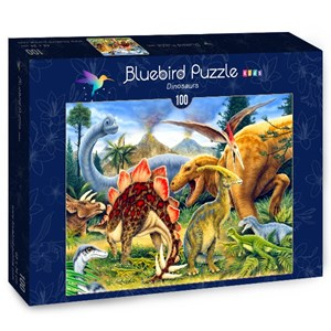 "Blue Orange (70406) - Howard Robinson: ""Dinosaurs"" - 100 piezas"