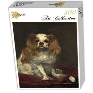 """Grafika (01708) - Edouard Manet: """"A King Charles Spaniel, 1866"""" - 300 piezas"""