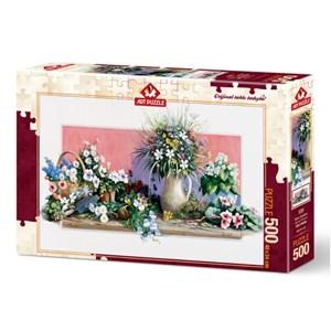 "Art Puzzle (4208) - ""Spring Flowers"" - 500 piezas"