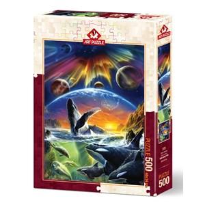 """Art Puzzle (5085) - """"Orka Universe"""" - 500 piezas"""