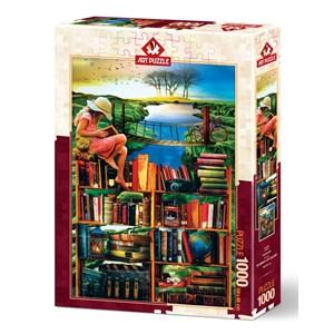"""Art Puzzle (5174) - """"Traveler"""" - 1000 piezas"""