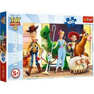 """Trefl (16356) - """"Toy Story 4"""" - 100 piezas"""
