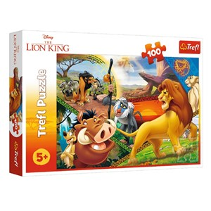"King International (16359) - ""Disney, The Lion King"" - 100 piezas"